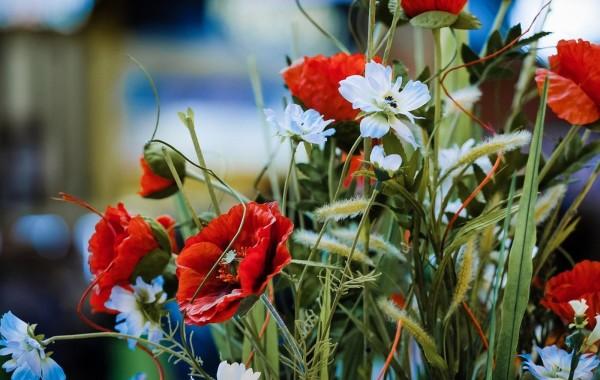 Напольные композиции из искусственных растений ТК Армада сезон весна-лето