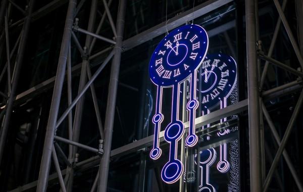 Новогоднее оформление ТРК Арена 2015