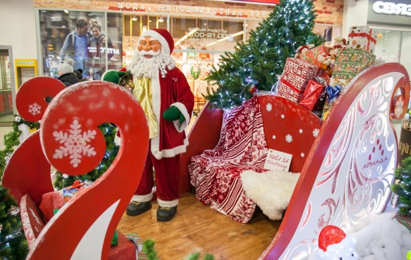 Премная Деда Мороза ТК Армада