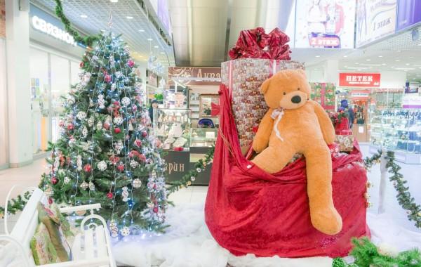 Приемная Деда Мороза ТК Армада 2014
