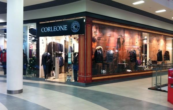 Монтаж оформления витрины магазин Корлеоне 2012
