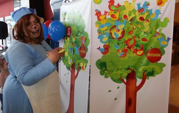 Детские праздники в кинотеатре Люксор
