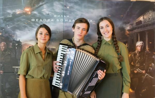 Премьерный показ фильма Сталинград